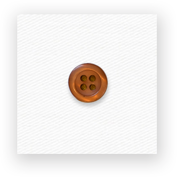 Toffee colored button