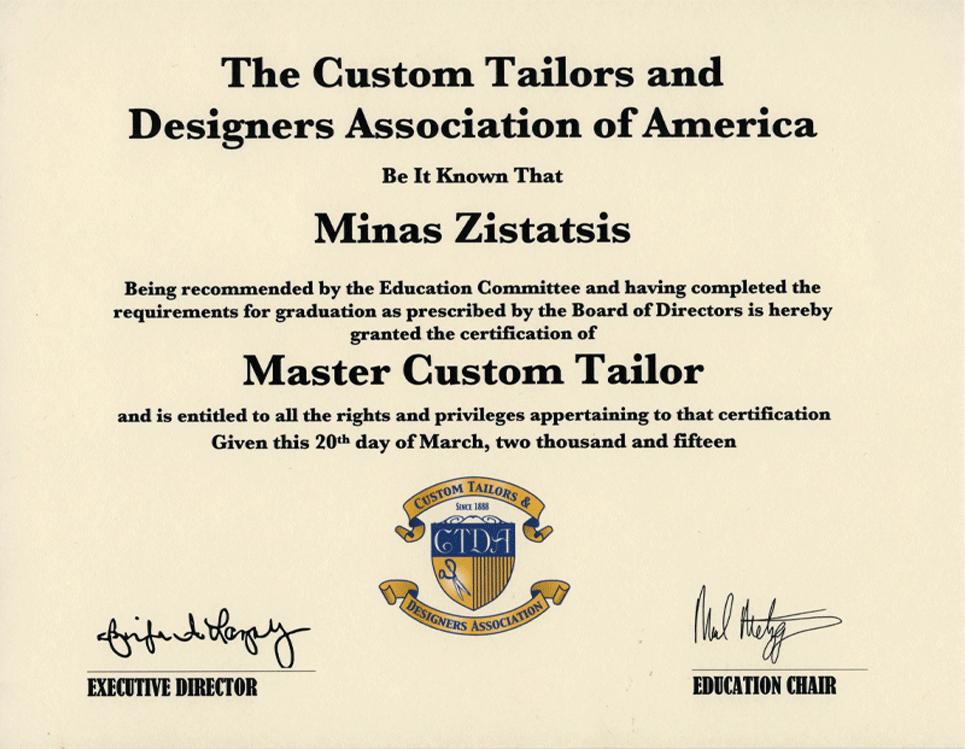 Master Custom Tailor