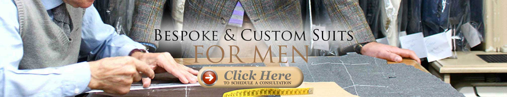 Bespoke and custom suits