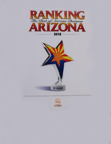 Ranking Arizona 2018
